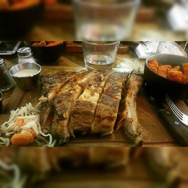 ksushii3 Chicago rib shack! #foodporn #food #yummy #fooderotica #chicagoribshack #chicagoribshackclapham #fatty