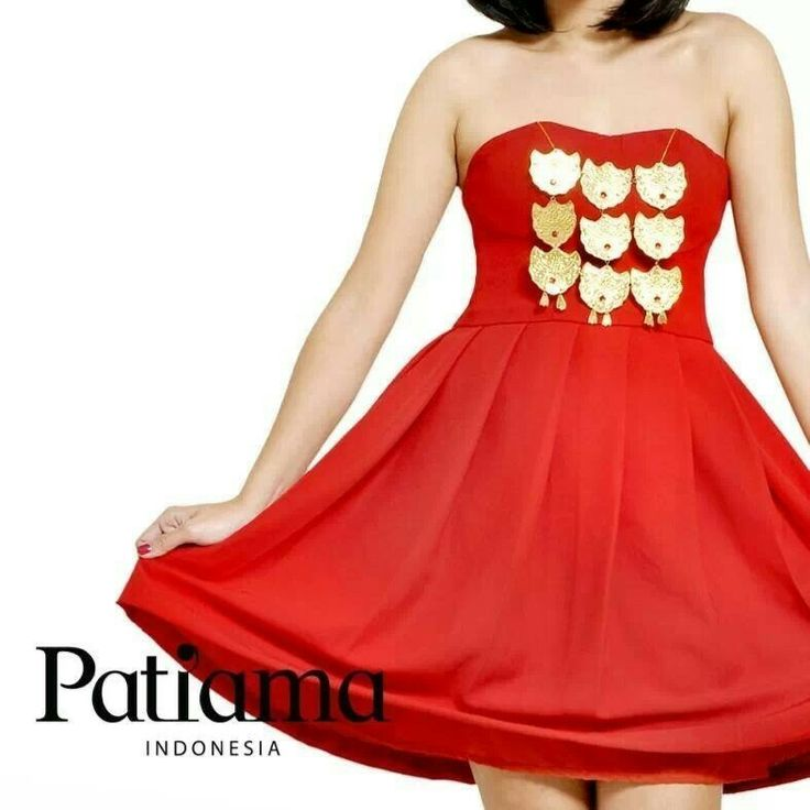 Sexy red... Be sexy with Patiama Indonesia collection www.patiama.com