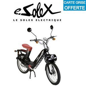 Solex électrique rouge - Vélo électrique E-Solex prix discount