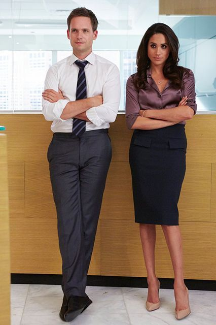 The TV Shows You Need To Watch Starting Now #refinery29  http://www.refinery29.com/2015/01/80468/best-midseason-tv-premieres-january-2015#slide-18   Suits  Show type: Legal drama Season 5 premieres January 28 In an effort to compel him to keep Mike's secret, Louis is made a name  partner at the firm. Everyone's about to get Litt UP.  Wednesdays at 10 p.m. on USA