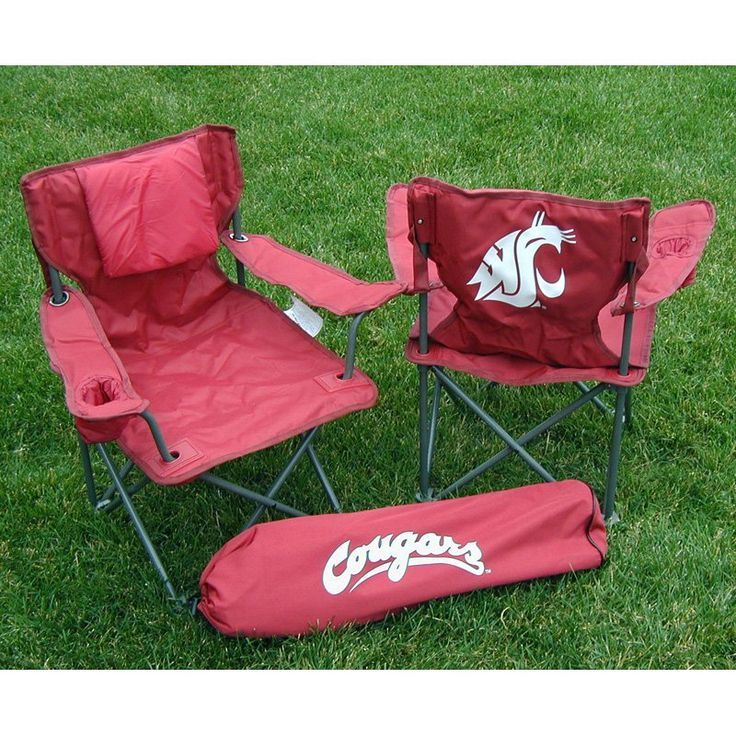 Outdoor Rivalry NCAA Collegiate Folding Junior Tailgate Chair   RV428 1200