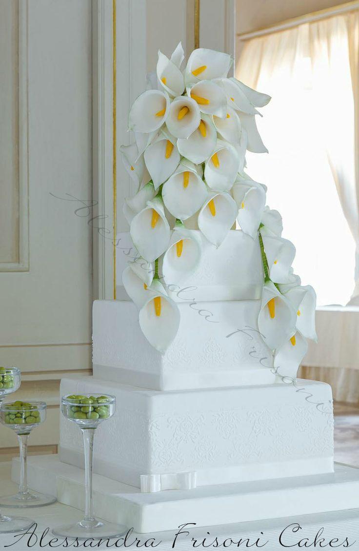 WEDDING CAKE.  Alessandra Frisoni Studio Cakes