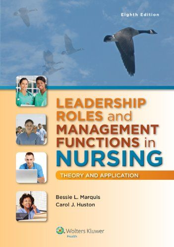 effective approaches in leadership management nursing Nine principles of successful nursing leadership august 2012 vol 7 no 8 and develop a staff financial newsletter to help staff understand how they play an important part in financial management on a accomplishments, and opportunities for growth the swot approach strengths.