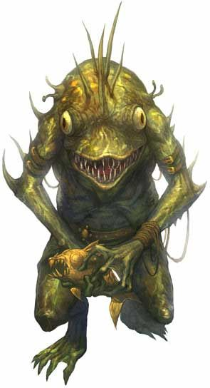 Kuo-toa - Dungeons and Dragons Wiki - Wikia
