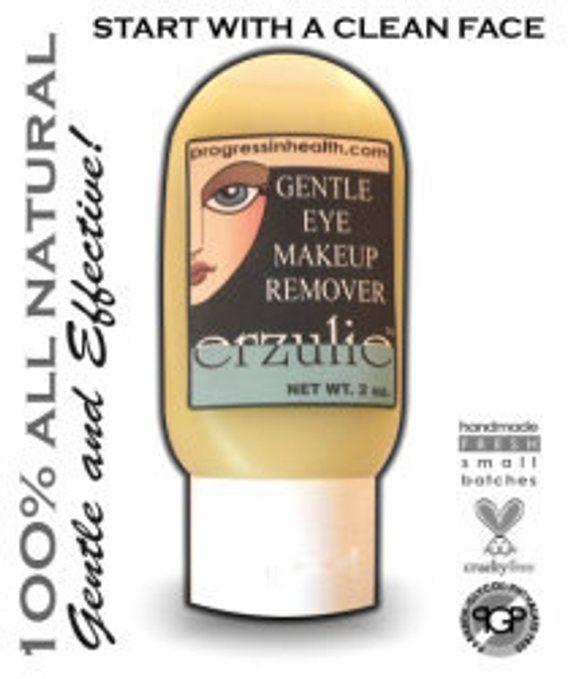 Organic Gentle Eye Makeup Remover Entfernt mühelos wasserfestes Makeup Vegan Eye Makeup Remover – NON TOXIC PRODUCTS ☢️