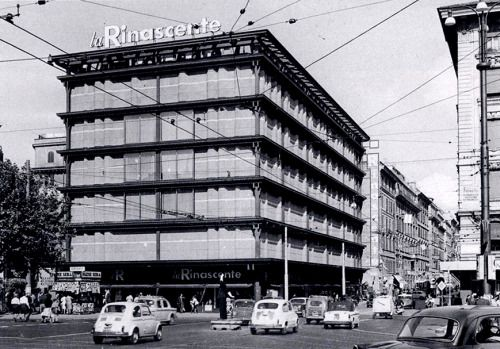 "Department Store ""La Rinascente"" (1957-61) in Rome, Italy, by Franco Albini"