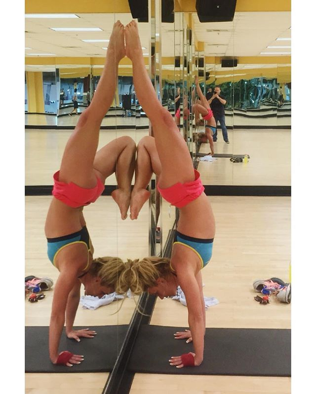 Pin for Later: Proof That Britney Spears Is Crazy Strong and Flexible