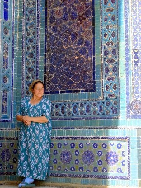 Samarqand, Uzbekistan. ----- A favorite of Papa's.