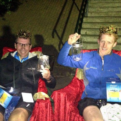 Metrogaine Orienteering winners receive Consol Solar Jars