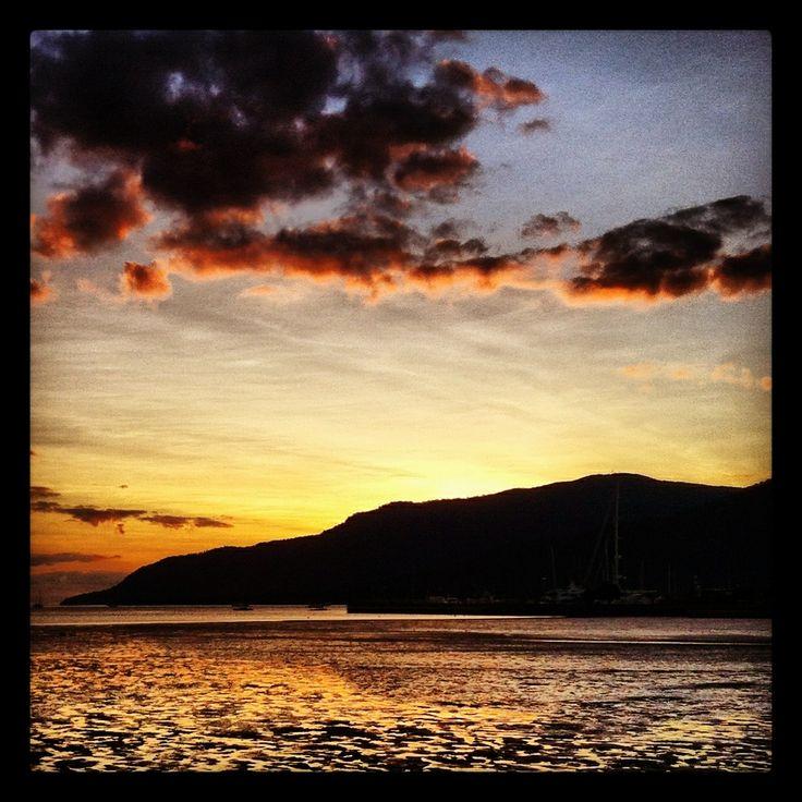 Sunset at Cairns Queensland Australia