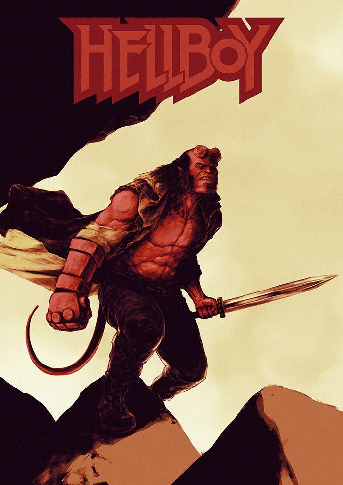 Hellboy By Salny Setyadi Em 2020
