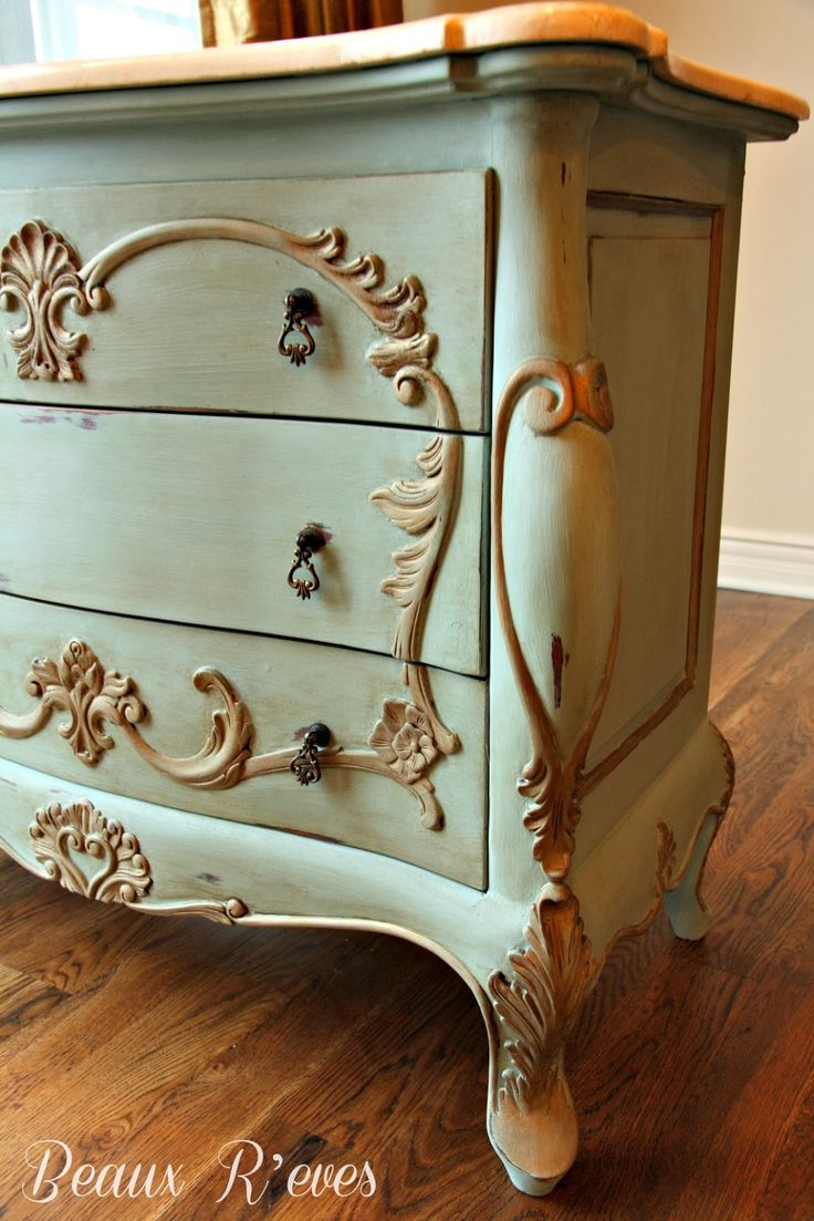 Beaux R'eves: Paint, Paint & MORE Paint! Before & After Photos With Instructions