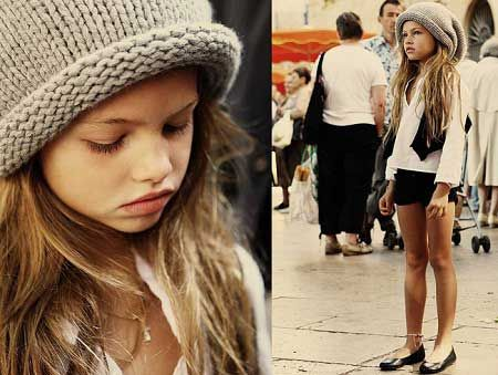 thylane loubry blondeau 10 year old french fashion model