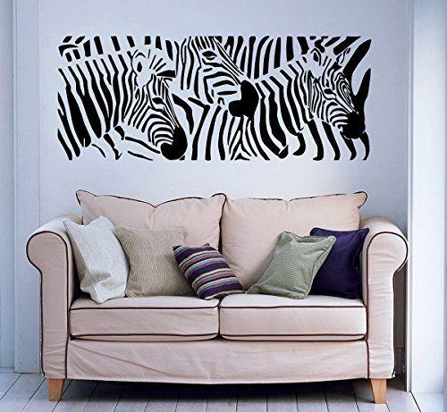 Wall Decal Zebra Animals Jungle Safari African Childrens ... https://www.amazon.com/dp/B00XK7493E/ref=cm_sw_r_pi_dp_x_kaI.ybMF4E2TP