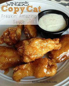 Winger'€™s Copycat Wings #chickenwings #appetizers