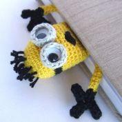 Henri le frog bookmark crochet pattern - Allcrochetpatterns.net