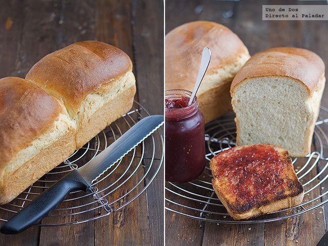 Pan de leche fácil. Receta