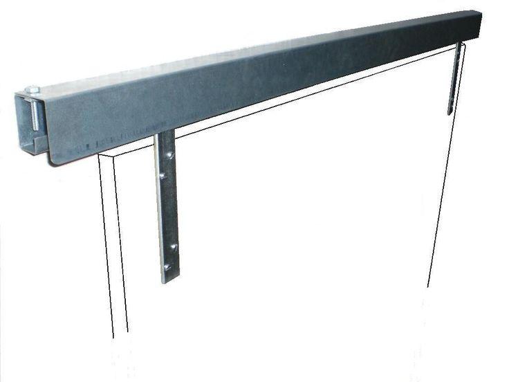 1000 ideas about barn door track system on pinterest Exterior sliding door track systems