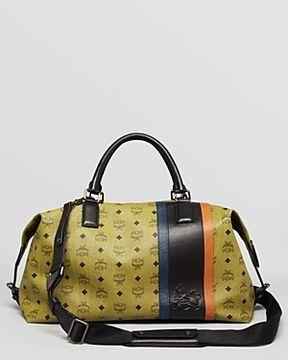 Mcm Munich Lion Weekender Bag On Style Co Uk