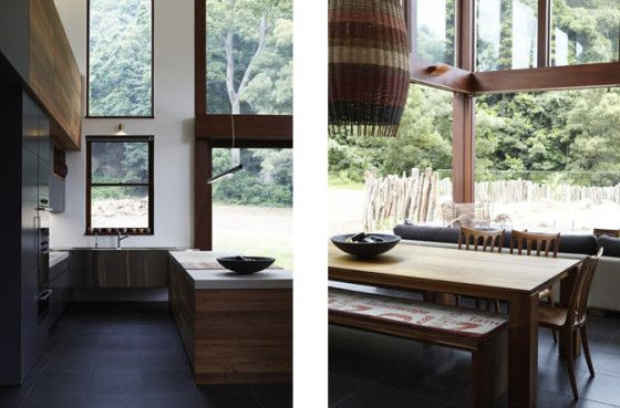 Diseño de interiores de casa ecológica