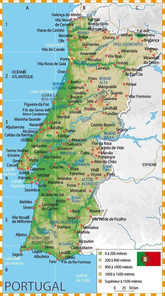 Epingle Par Shanny Talbot Sur Carte Portugal En 2020 Carte