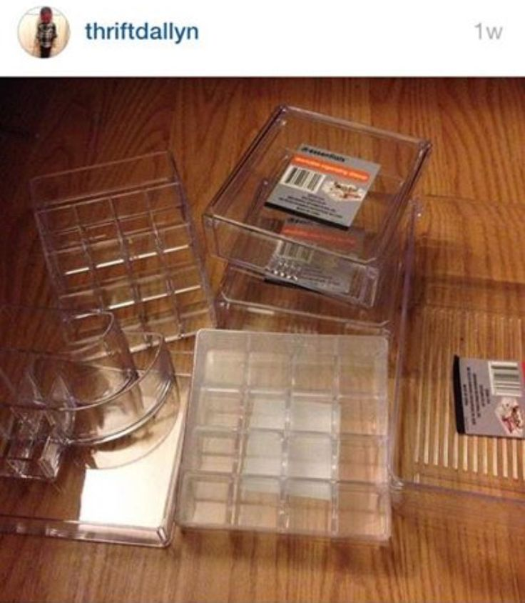 Dollar Tree Makeup Organizers Beat Face Pinterest