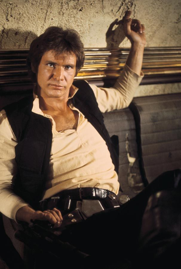 Han Solo in EPISODE IV - A NEW HOPE (1977)