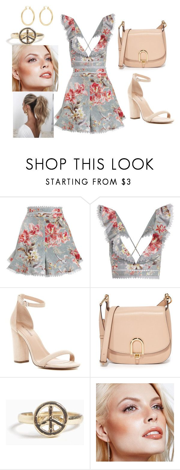 """""""Flowers"""" by zeynepkilic889 on Polyvore featuring moda, Zimmermann, Call it SPRING, MICHAEL Michael Kors, Avon, Love Couture ve Isabel Marant"""