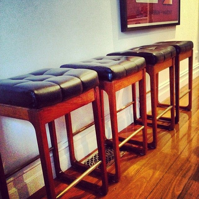 Gerald Easden stools. One of the latest items in store. #vintage #retro #designer #midcentury #stool