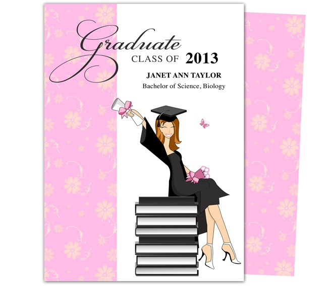 best  printable diy graduation announcements templates images on, invitation samples