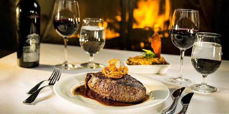 #Silvertip's Rustica restaurant was voted Best Steak in #Alberta 2014 by Open Table! Join us>
