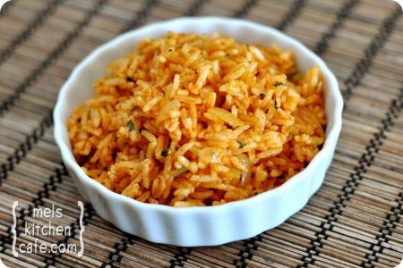 Mexican Rice.  I'm always on the prowl for easy and tasty side dishes!