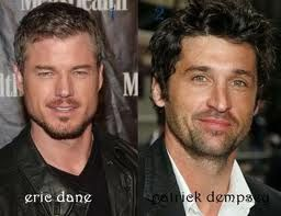 Eric Dane and Patrick Dempsey
