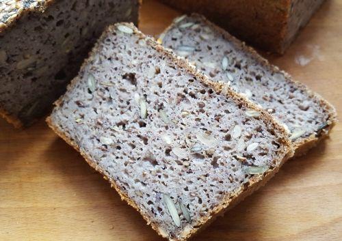 dieta Warzywno Owocowa: Chleb z kaszy gryczanej niepalonej [bezglutenowy]
