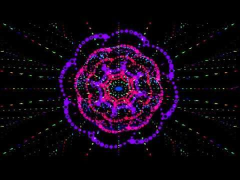 футаж hd - космический цветок - YouTube