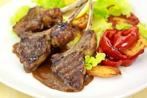 Lamb Chops for the Pressure Cooker from CDKitchen.com