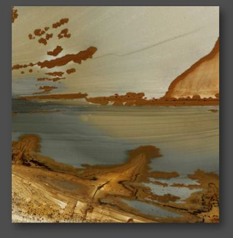 Picture Jasper - Nature's paintings preserved in stone.