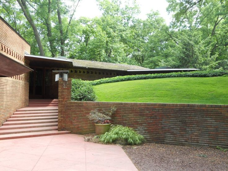 17 best images about f l w william and mary palmer house for Frank lloyd wright palmer house
