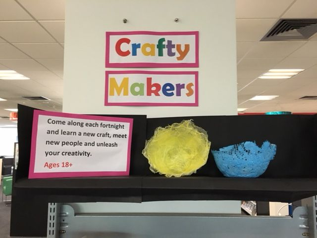Come along each fortnight and learn a new craft, meet new people and unleash your creativity. Happening at The Age Library, Craigieburn Library and Sunbury Library.