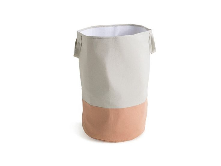 Neutral & Tan storage sack from Sack Me / Large & Small sizes / What to buy for my nursery / How to style a kids room