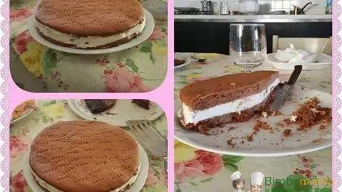 torta gelato al biscotto bimby