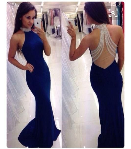 Long blue dress singapore