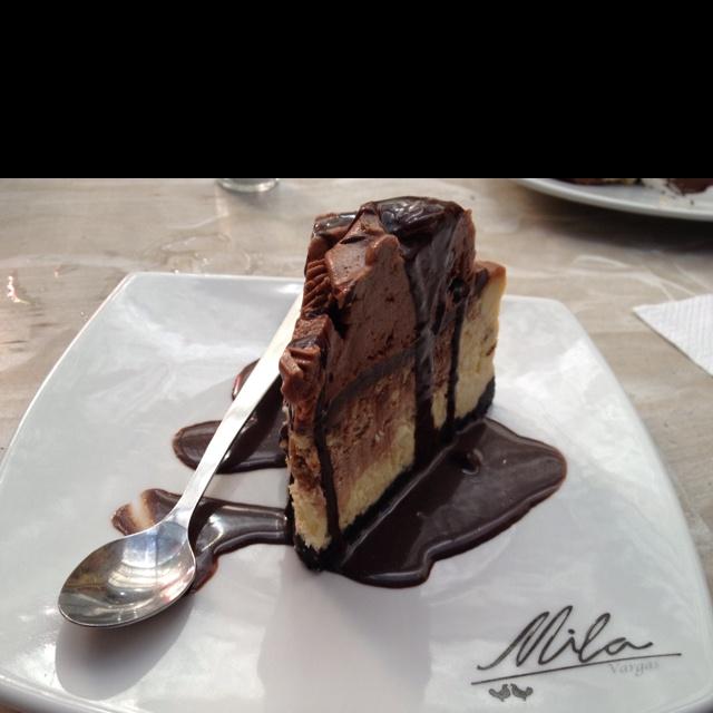Cheesecake de chocolate de Mila / Cartagena
