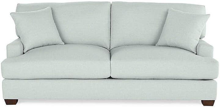 Logan Sleeper Sofa Seafoam Linen Miles Talbott Sleeper Sofa
