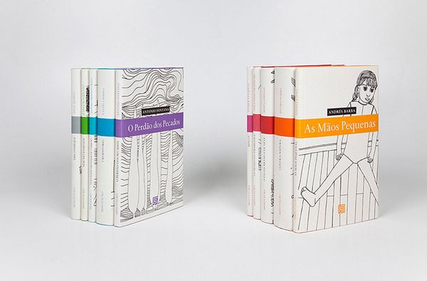 Minotauro book series by FBA. , via Behance
