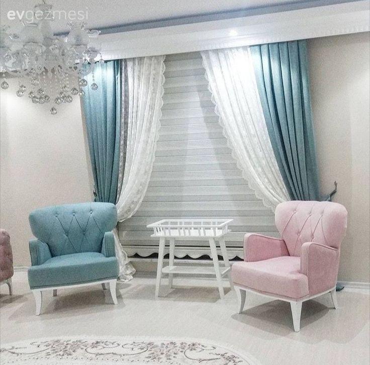 Teslime hanım şimdilerde tatlı bir telaş içinde; düğününe kısa bir süre kalmış, evin dekoru da yavaş yavaş şekillenmeye başlamış. Klasik, şık mobilyalarını pembe ve mavi tonlarda tercih eden ev sahibi...