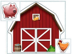 Farm Printables for Kids - Kids' Printable Farm Animals - Kaboose.com
