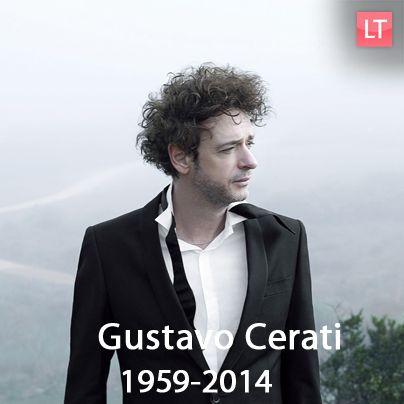 Muere Gustavo #Cerati a sus 55 años, producto de un paro cardiorrespiratorio, tras permanecer 4 años en coma.