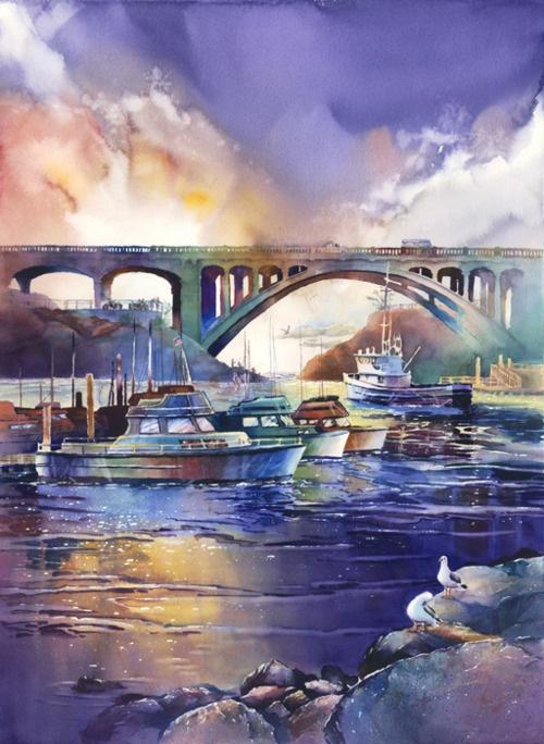 david sorenson watercolor paintings - Google Search
