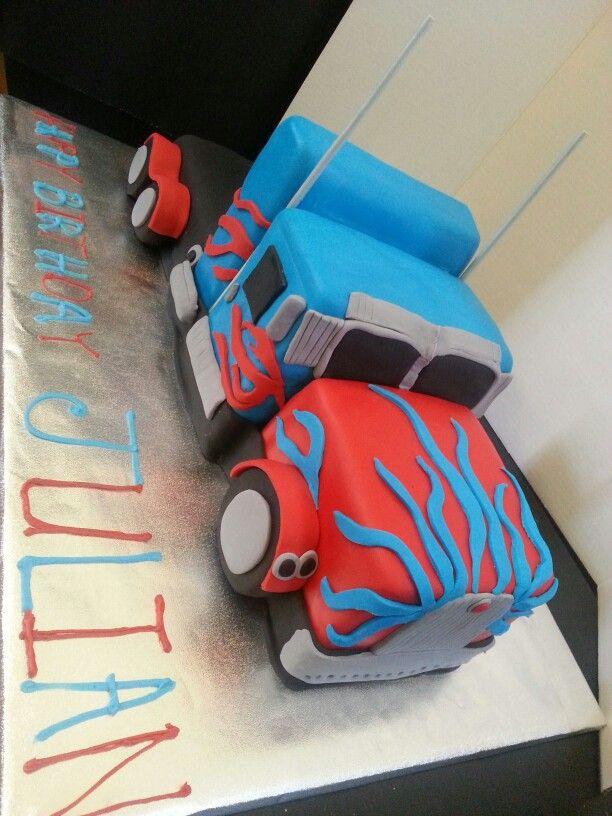 Optimus Prime Cake Images